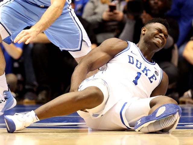 Nike Fires 8-Year-Old Shoemaker Responsible For Zion Williamson Injury<em></em>