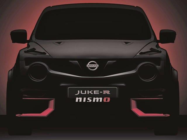 Nissan Juke-R yang Lebih Gila Akan Datang