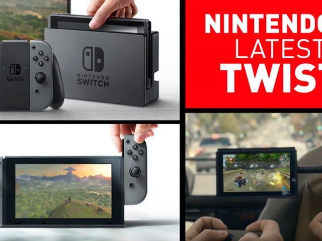 Ось ваш перший погляд на перемикач Nintendo, наступну консоль Nintendo