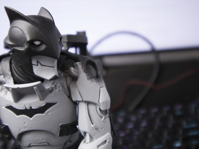 Strange Mecha Batman Statue Totally Works