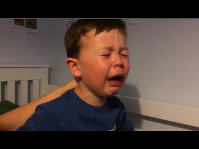 Il fan di Sad Little Man Utd sta solo urlando per Robin van Persie Transfer