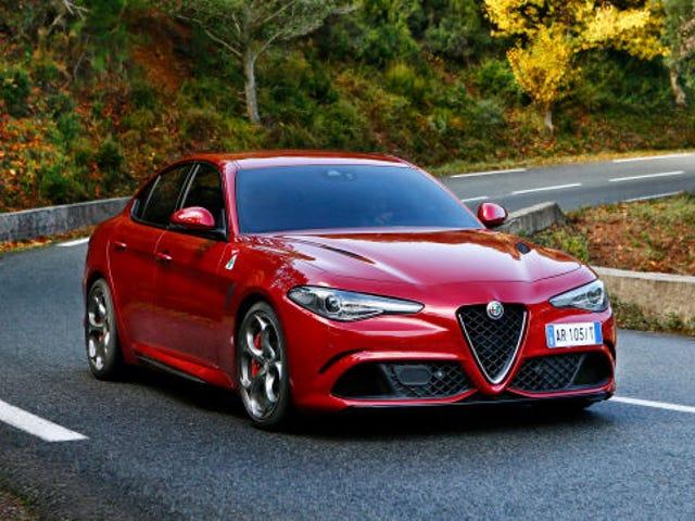 Alfa Romeo Giulia alkaa $ 38,990, Dreamy 505 HP Quadrifoglio At $ 73,595