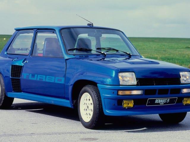 Var Renault R5 Turbo den mest kraftfulla franska bilens dag?
