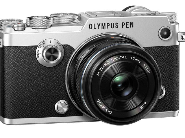 Olympus Pen-F ist der künstlerischste Retro-Kamera-Reboot noch