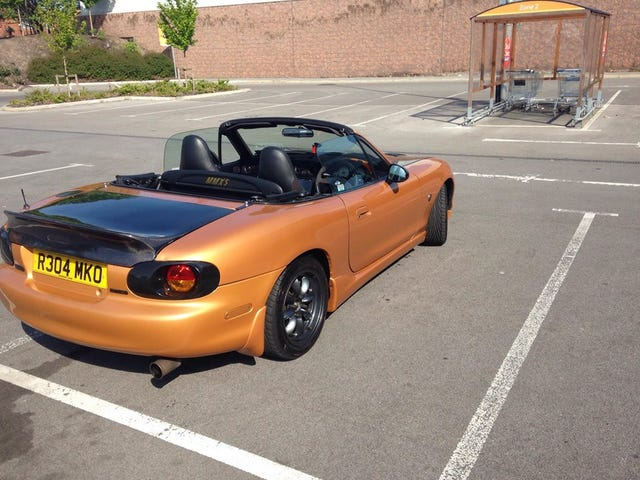 I want to spend $1k+ on carbon fiber parts for my Miata