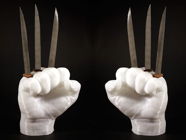 Αυτός ο κάτοχος μαχαιριού Wolverine είναι ένας τρομερός και απίστευτα επικίνδυνος τρόπος να αποθηκεύσετε τα μαχαίρια σας