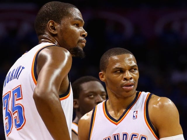 Westbrook And Durant Don't Seem Too Sad About Losing Reggie Jackson
