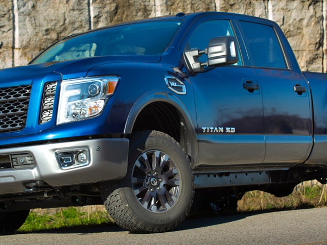 The Gasoline 2016 Nissan Titan Gets A Power Bump And A 7-Speed Transmission