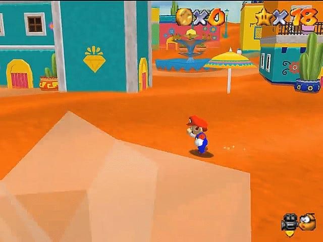 A Modder Recreated Super Mario Odyssey's Sand Kingdom In Super Mario 64
