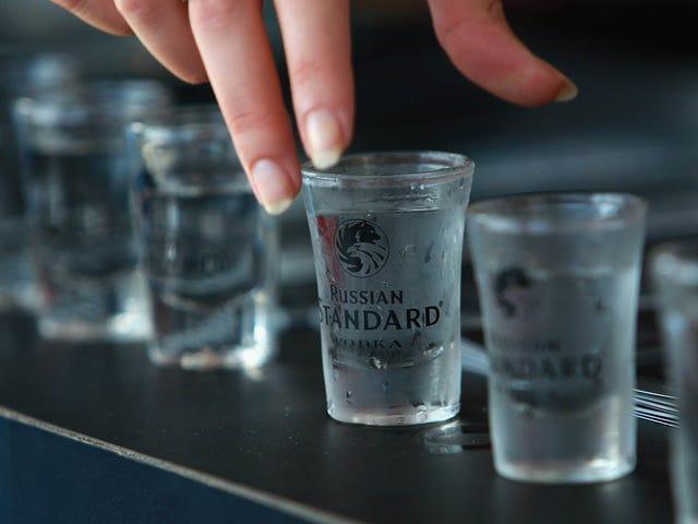 Russian booze consumption plummets, rewrite your jokes accordingly