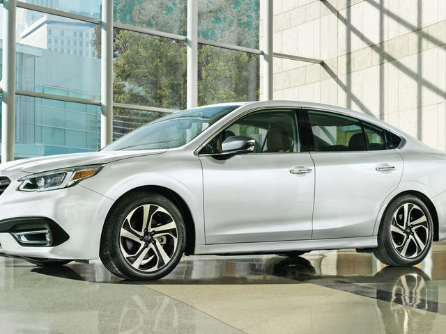 The 2020 Subaru Legacy Går Turbo Power Back