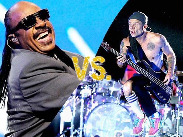 Song Showdown: Stevie Wonder Vs Chili Peppers