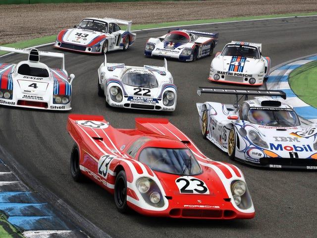 [Đây là một số trong số những chiếc xe giành được giải thưởng Le Mans trong 24 giờ của Porsche