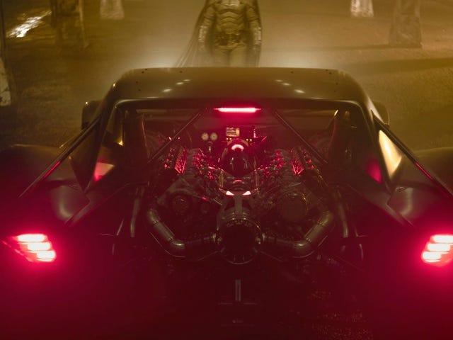 Hot Damn, titta på The Batman's New Ride