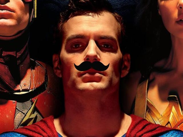 The Unverified Yet Believably Silly Reason Why Henry Cavill Couldn't Shave His 'Stache for Justice League
