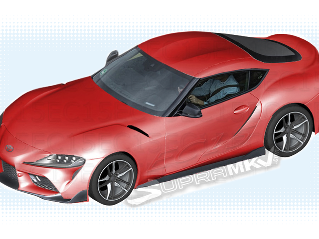 2019 Toyota Supra: Pretty Much The Whole Car From Some LeakedParts Diagrams