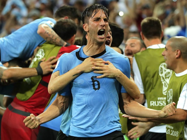 Edinson Cavani Leads The Shithouse Kings Of Uruguay To Victory Over Portugal