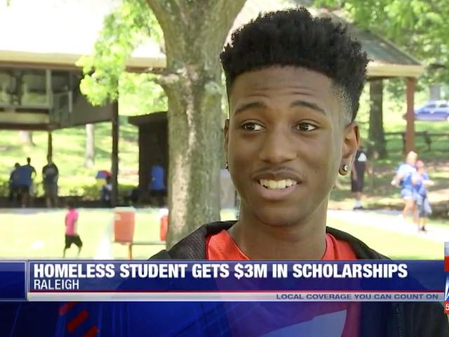 Homeless Student Awarded $3 Million in Scholarships, Named Valedictorian
