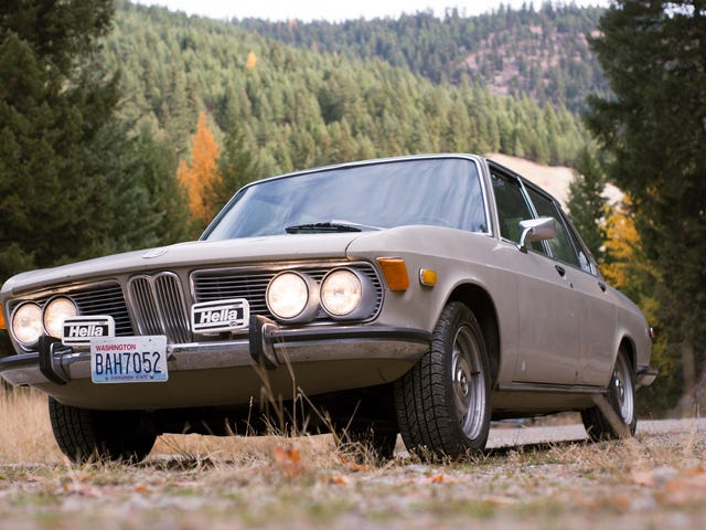 Montana Tried To Defeat Us With Altitude, Then It Tried With Cheap Booze, But Our 1970 BMW 2500 Runs On