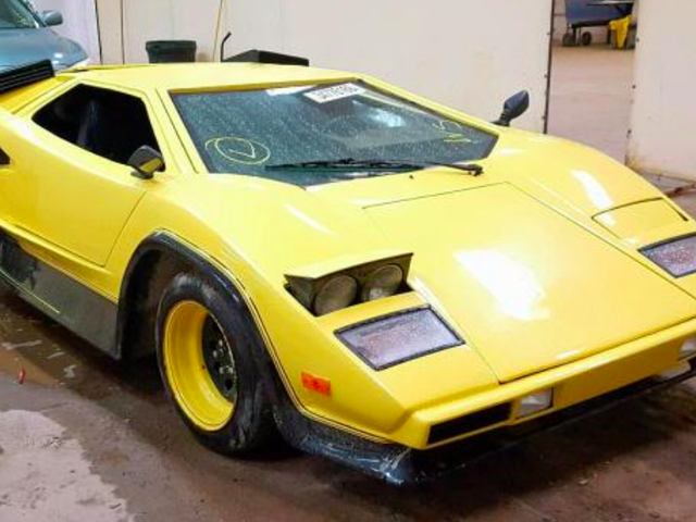 Du kan kjøpe Lamborghini Countach of Your Dreams for Dirt Cheap (Bortsett fra at det er en Fiero)