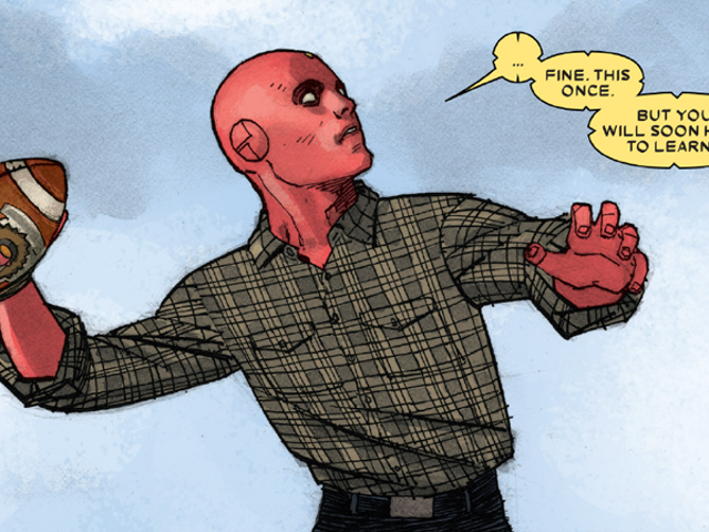 Marvel's The Vision Is Telling a Story Unlike Any Superhero Comic I've Ever Read