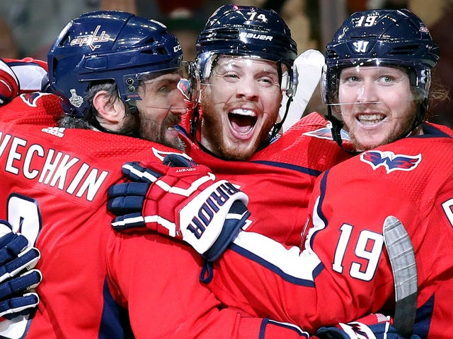 The Capitals Finally Made Vegas Look Like An Expansion Team
