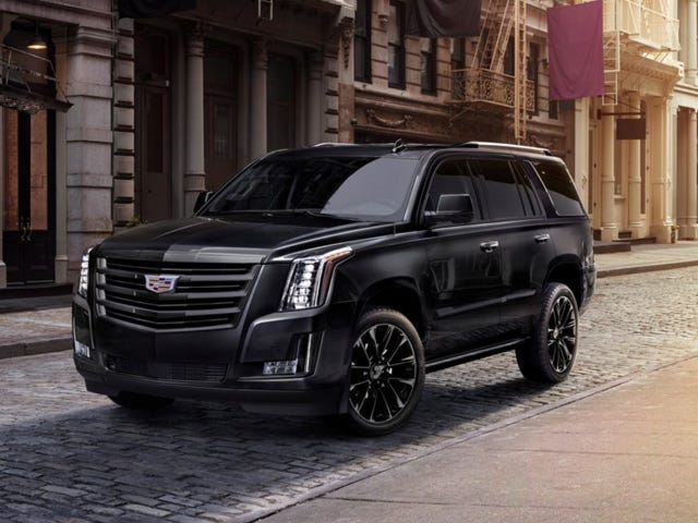 I, The 2019 Cadillac Escalade Sport Edition, Am Going Goth