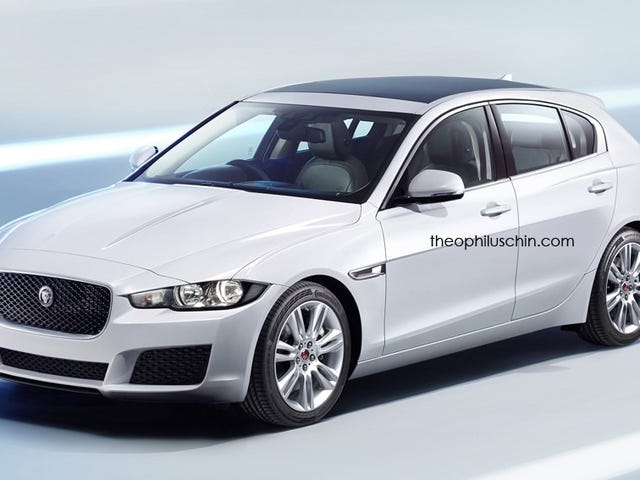 Jaguar XD Rendered To Take On Mercedes A-Class, BMW 1-Series