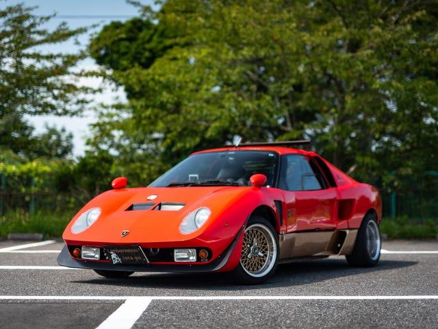 This Mad Tuner Genius Turned a Suzuki Into a Lamborghini Miura Jota SVR Tribute