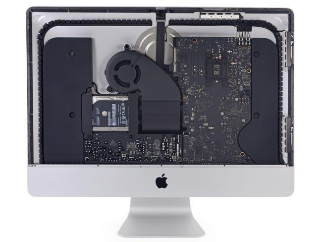 नया iMac उन वर्षों में पहला है जिसमें आप रैम और प्रोसेसर का विस्तार कर सकते हैं (लेकिन आप वारंटी खो देंगे)