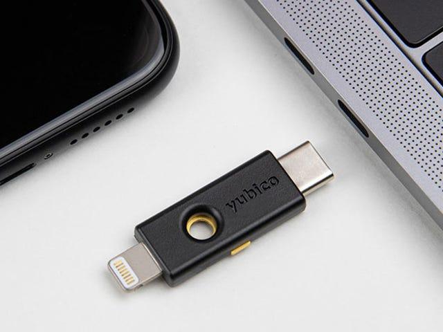 Yubico gør det meget lettere at bruge en fysisk sikkerhedsnøgle på ældre iPhoner til supersikre login