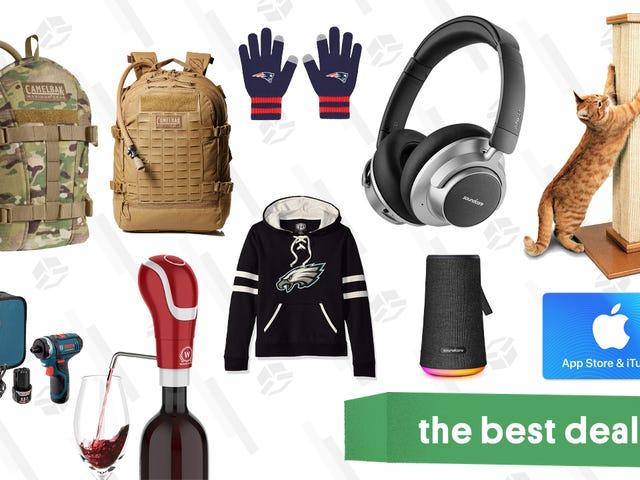 Torsdagens bedste tilbud: Gavekort, NFL Merch, Anker Hovedtelefoner og meget mere