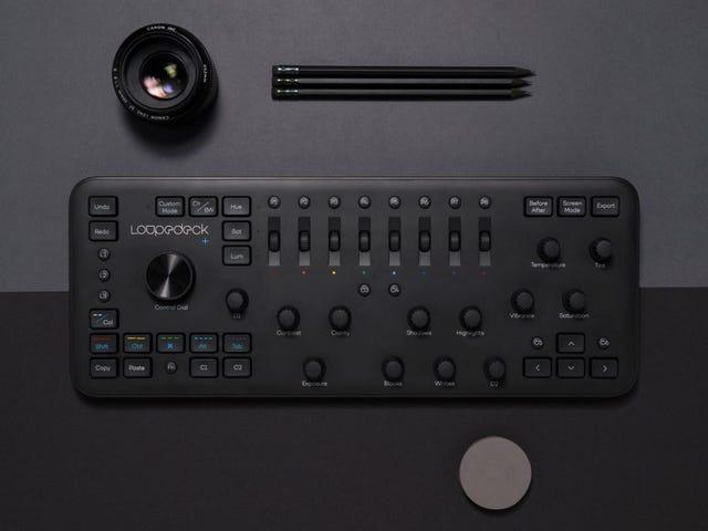 Esta consola con controles para editar fotos y vídeo es el teclado que no sabías que necesitabas