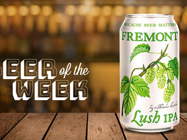 Beer Of The Week: Fremont Lush IPA delivers on its name