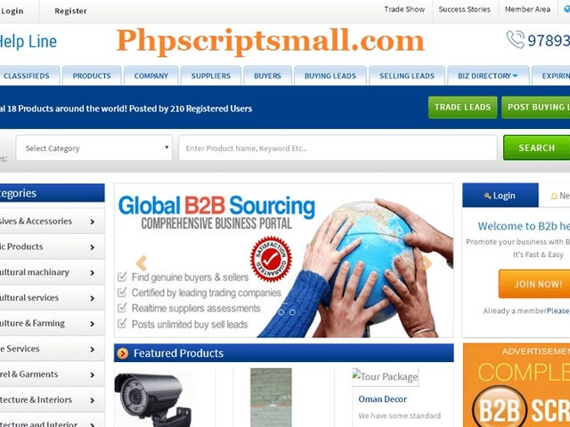 B2b Ecommerce Software - Buy and Sell Php Script