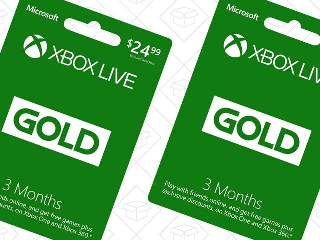 Amazon's Selling Six Months of Xbox Live Gold For $15, For Some Reason
