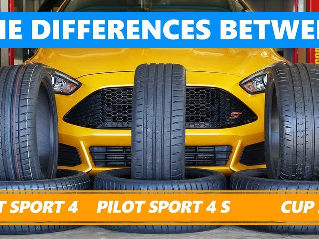 Here Are the Differences Between Those Bewildering Summer Tire Choices