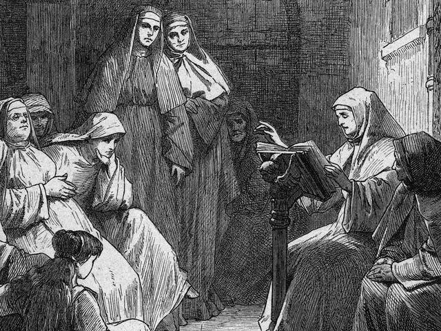 Fjortende århundrede nonne fejede hendes død for at flygte hendes kloster