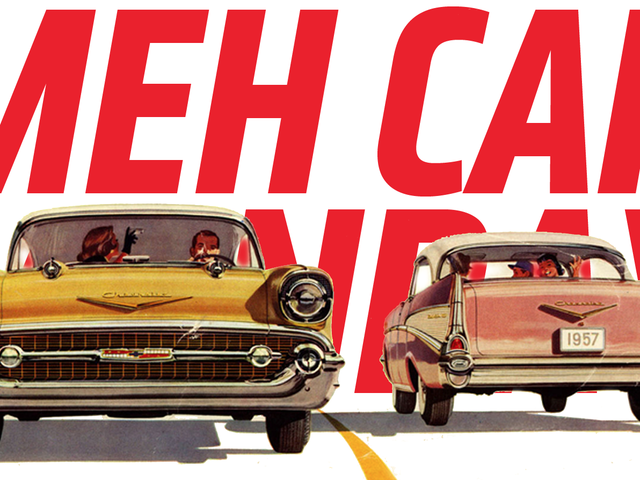 Meh Car Monday: The Famous, Iconic Chevrolet Bel Air Has It Coming