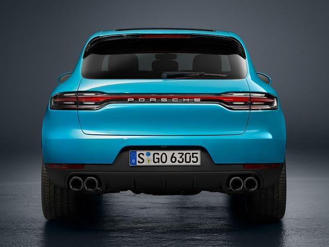 Der 2019 Porsche Macan bekommt ein enorm neues Rücklicht
