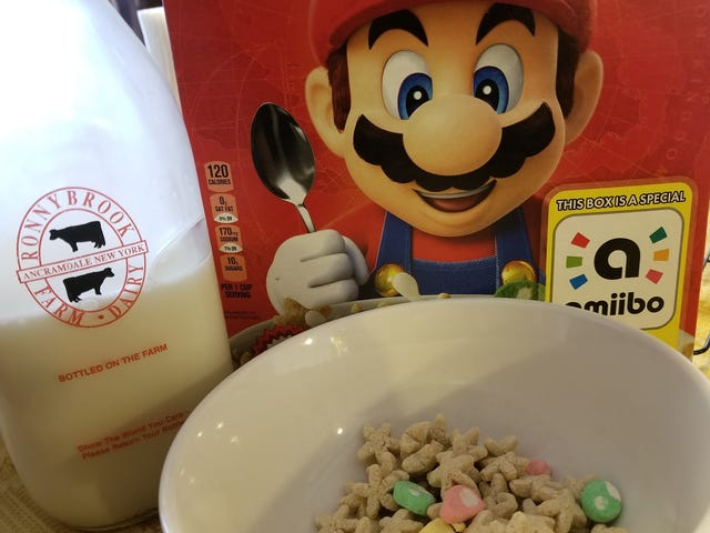 Not Even Good Milk Can Save Mario's Cereal