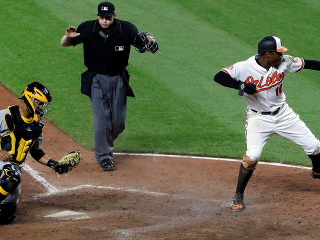 The Chill And Strong Orioles Beat The Pirates