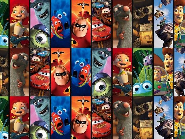 Todas las 19 películas de Pixar, clasificadas