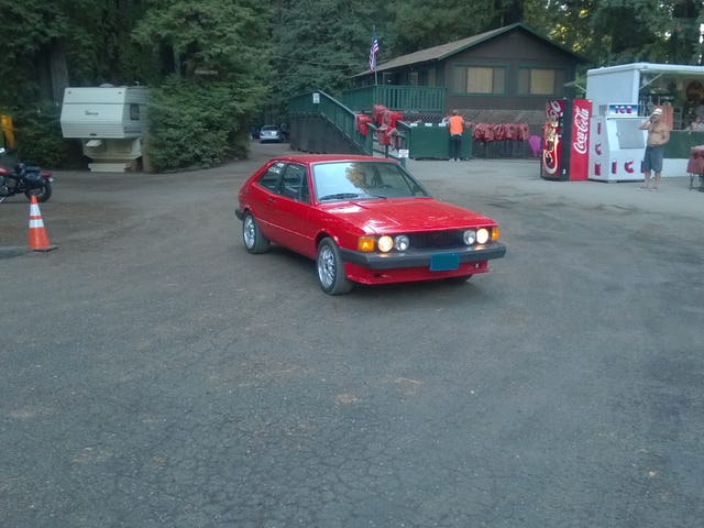1978 VW Scirocco S: in the wild