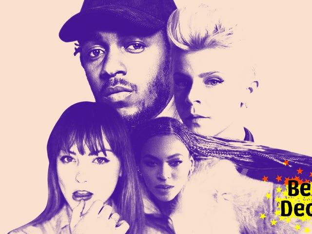 Los 50 mejores álbumes de la década de 2010