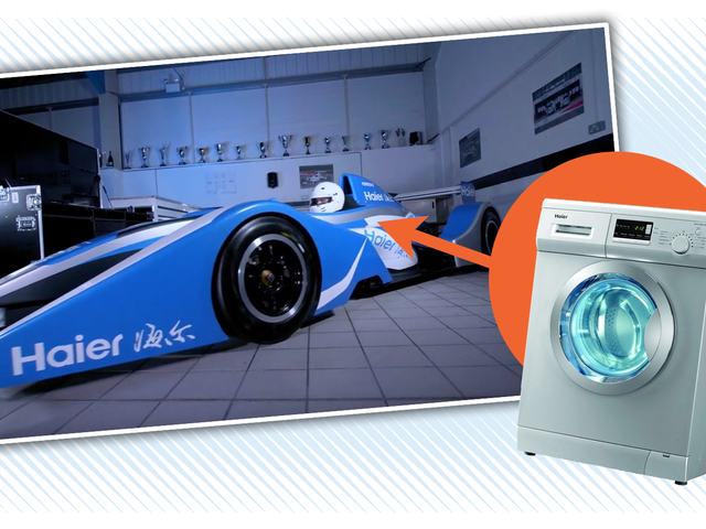 Global Racing Team Builds Formula Race Car With a Washing Machine Motor, Finally