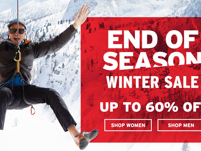 Take Up to 60% Off Sitewide at Eddie Bauer's End of Season Sale