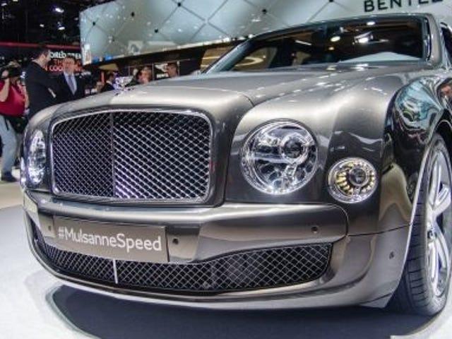 La velocidad de Bentley Mulsanne es enorme