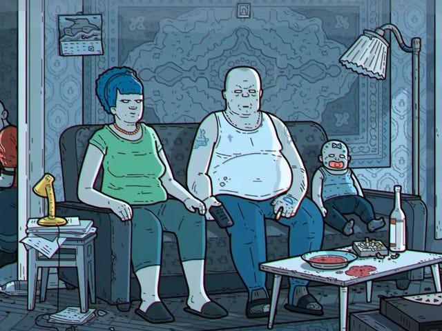 La intro de Los Simpsons tan oscura y deprimente quenopodríainsiversirseen horario infantil
