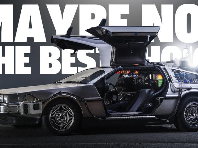 Chiếc xe tốt nhất để biến thành cỗ máy thời gian là gì?